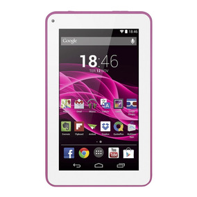 Tablet Multilaser M7s Rosa Tela Capacitiva 7'' Wi-fi
