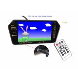 Espejo Retrovisor Monitor Mp5 Usb Sd Bluetooth Cámara Retro