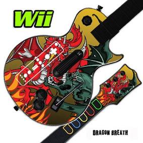 Mightyskins Cubierta De Piel Para Guitar Hero 3 Iii Nintend