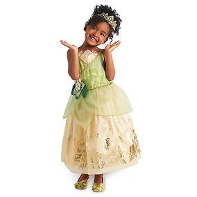 Disfraz Tiana Disney Store Vestido La Princesa Y El Sapo