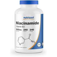 Niacinamida Vitamina B3 500mg 240 Caps Piel Celulas Niacina