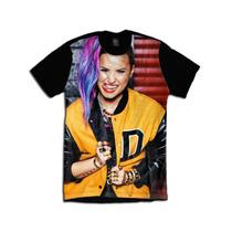 Camiseta Personalizada Demi Lovato Seventeen Magazine 2014