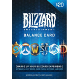 Codigo Digital Blizzard 20 Usd Dolares Battlenet Wow