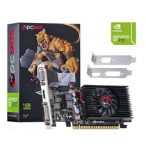 Placa De Vídeo Geforce Gt210 1gb Ddr3 64bits Pcyes Gar 1 Ano