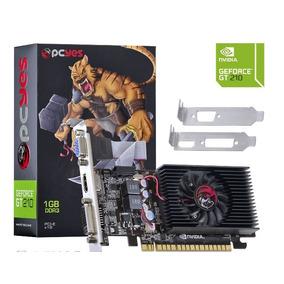 Placa De Vídeo Nvidia Gt210 Geforce 1gb Ddr3 Vga-dvi-hdmi Nf