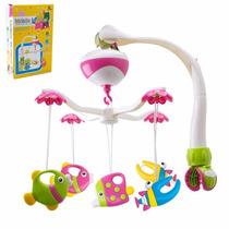 Brinquedo Para Berço Móbile Giratório Peixinho Musical Bebê