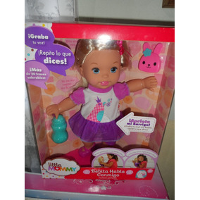 Muñeca Little Mommy Bebita Habla Conmigo