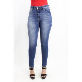 Calça Skinny Jeans Com Elastano Cós Médio Revanche