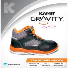 Calzado De Seguridad Kamet Gravity Botines Dager P. Alum.