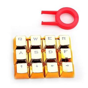 Teclas Keycaps A103 Doradas (10828)