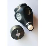 Antigua Máscara Gas Israelí - C/ Filtro - En Caja Impecable