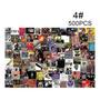 500PCS 4#