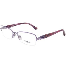 Armação Para Óculos Vogue - Vo3813b 756- Frete Grátis