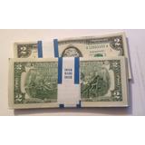 Billete 2 Dolares Usa * Nuevo * +suerte