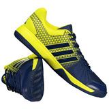 Tênis adidas Vôlei Ligra 4 Azul E Amarelo