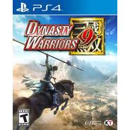 Dynasty Warriors 9 Ps4 Físico Nuevo Sellado Envío Gratis!