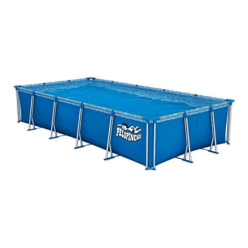 Pileta estructural rectangular Pelopincho 1076 con capacidad de 8000 litros de 4.45m de largo x 2.25m de ancho