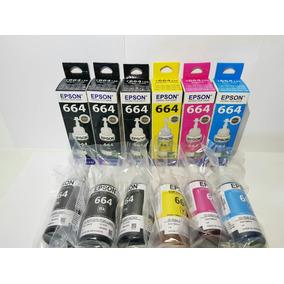 Kit Epson Originais L200 L220 L355 L365 L375 L380 L395 L455