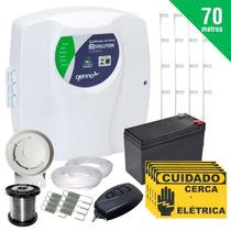 Kit Cerca Elétrica Residencial Comercial 120 Metros+brinde
