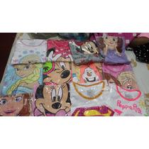 Camisas De Minie, Frozen, Doctora Juguetes