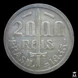 Mg* Brasil 2000 Reis 1935 Moneda De Plata