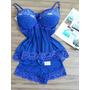 Pijama Baby Doll Para Mulheres Lindas E Sensuais