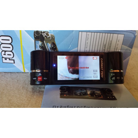 Filmadora Veicular F600 Dual Cam Visao Noturna Hd 8 Led 2.7