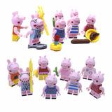 Peppa Pig Kit Festa Decoração Topo De Bolo Festa Infantil