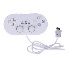 Controle Joystick Nintendo Wii Classic Controller Branco