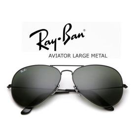 Ray-ban Aviador Rb3026 Preto Classic 50%off