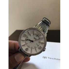 Reloj Noa Con Diamantes 36mm Automatico