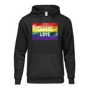 Hoodie Otherwise Choose Love Con Capucha Lgtb Genderless