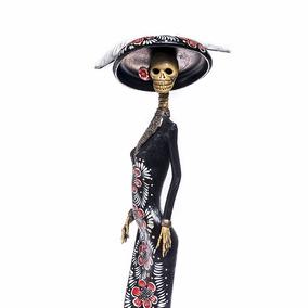 Duquesa Catrina Mexicana De Barro 100% Hecha A Mano¡¡¡