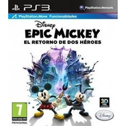 Disney Epic Mickey 2: The Power Of Two [ps3 Digital]