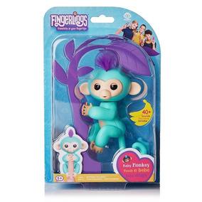 Agarradinhos - Fingerlings - Baby Monkey Zoe - Candide