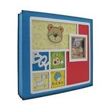 Álbum Yes Para 200 Fotos 10x15 - Bebê Azul - Menino