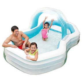 Piscina Intex Inflável Familiar Com Arco Cabana Adulto 700l