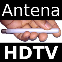 Antena Tv Digital Frete Grátis Hdtv Uhf Hd 5dbi Externa *int