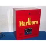 Maquina Expendedora D Cigarros Sueltos Letrero Rojo Amarillo