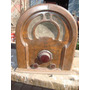 Antigua Radio Capilla Alto 46 Cm Ancho 39 Cm Profund 25 Cm