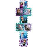 Piso De Espuma Soft Tiles Frozen 8 Pcs 31x31 Cm Envio Gratis