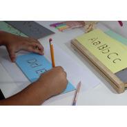Aprendizaje Primeras Letras Abecedario Madera Montessori