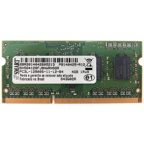Memória Para Notebook 4gb Ddr3 1600mhz Smart Pc3l 12800s