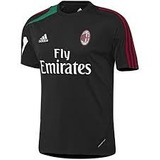 Camisa Ac Milan adidas F50 Treino 2012-2013 Preto