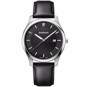 Reloj Wenger City Classic 011441101 Original Para Hombre