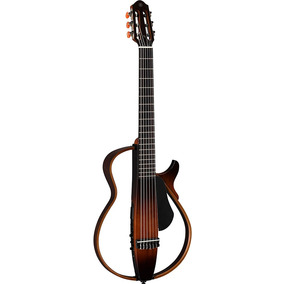 Guitarra Electroacústica Yamaha Slg200n Silent Tbs Nueva