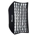 Soft Box Phottix C/ Panal Grid Caja Luz 91x122cm P/ Bowens