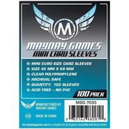 Mayday Mini Euro 100 Card Sleeves - 45mmx68mm