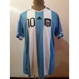Camiseta De La Seleccion Argentina adidas 2011 Messi