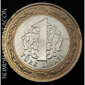 Moneda Turquia - 1 Lira Turca 2016 - Excelente